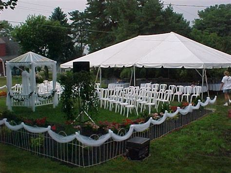 gazebo rentals image detail for outdoor wedding decorations with tent