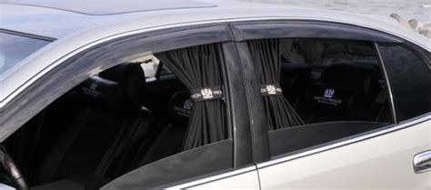 car curtains building a vip car the toyota celsior interior glass