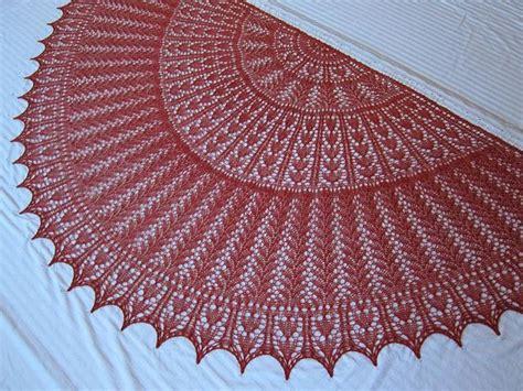 knitting circle pattern ravelry ez 100th anniversary hearts half circle pattern