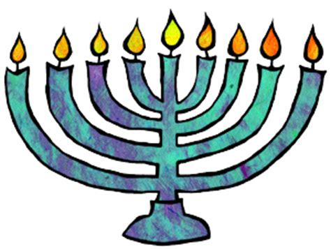 7 Pretty Hanukkah Decorations by Free Hanukkah Clipart Animations
