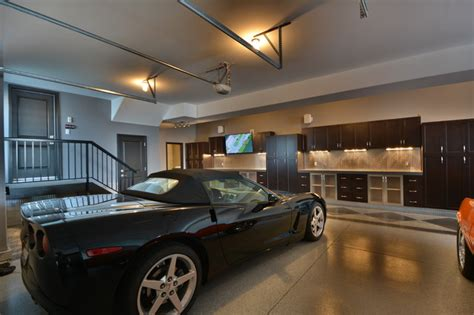 Ultimate Garage Industrial Garage And Shed edmonton by Homes By Design Innovations Inc.