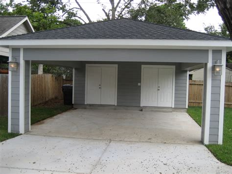Carport Attached To Front Of Garage
