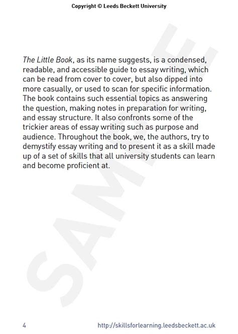 Essay Writing Book Pdf Free by Book Essay Introduction
