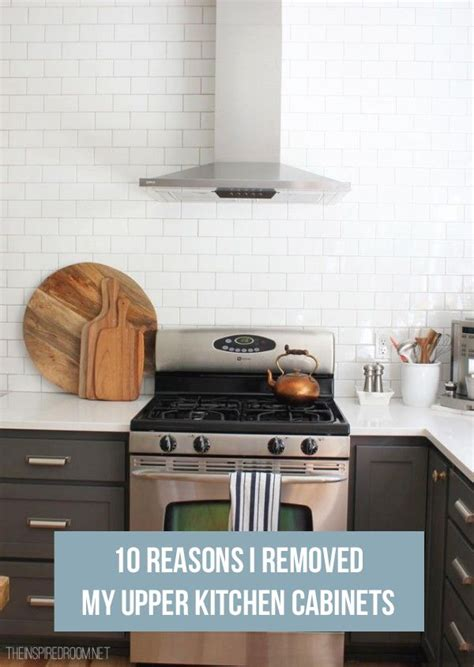 kitchen without upper wall cabinets 10 reasons i removed my upper kitchen cabinets cabinets