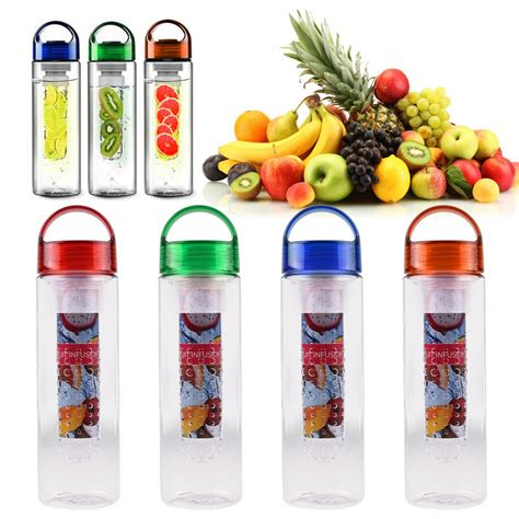 Detox Bottle Ebay by New 700ml Fruit Infuser Water Bottle Infusion Bpa Free
