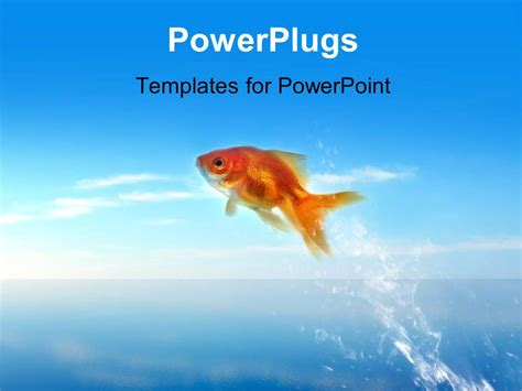 fish powerpoint template matisse goldfish powerpoint goldfish bowl template images