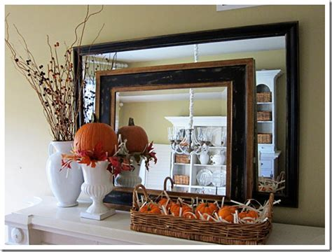 decorating the mantel for pumpkins my fall mantel in my own style