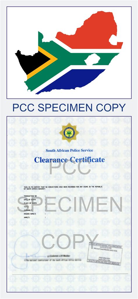 Pretoria Criminal Record Centre Clearance Certificate South Africa Criminal Record Check Pcc In Sa Fbi