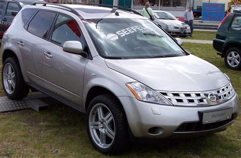 how cars engines work 2005 nissan murano navigation system file nissan murano silver vr jpg wikimedia commons