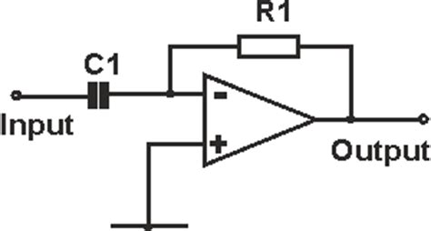 op with inductor input op differentiator circuit radio electronics