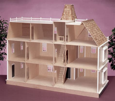 cheap wooden dolls house dollhouse kits cheap top new wooden dollhouse furniture kids toys handmade gift diy
