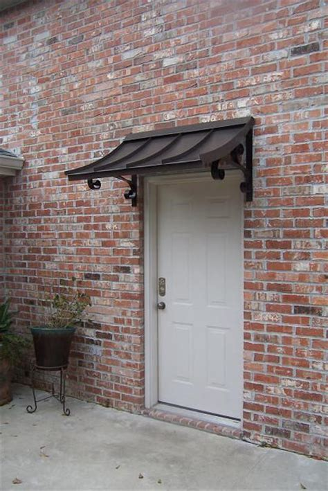 custom aluminum awnings 25 best ideas about metal awning on pinterest front