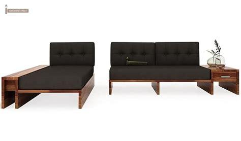 l shaped wooden sofa cortez l shaped wooden sofa teak finish
