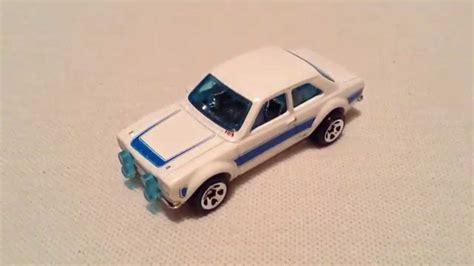 Hotwheels 70 Ford Rs1600 wheels 70 ford rs1600 2015 hw garage white