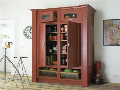 Free Standing Kitchen Pantry Furniture Freestanding Pantry Cabinet Roselawnlutheran