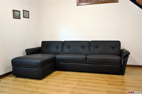 Corner Sofa Bed In Leather With Storage Corner Sofa Bed Black