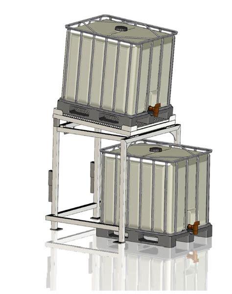 gestell ibc container avm anlagenvertrieb montage wittenberg