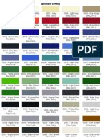 color list equivalence ip ral blue yellow