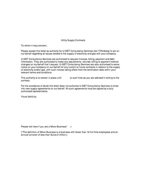 Authorization Letter To Quote Quotation Sle