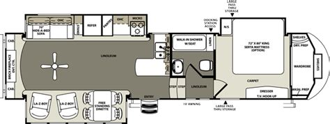 sandpiper rv floor plans forest river sandpiper 5th wheels floor plans new used