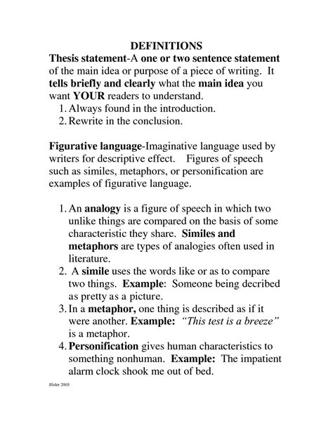 Sles Of Definition Essays by Definition Une Dissertation
