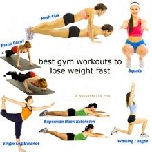 how to do the workouts to lose weight fast and safe