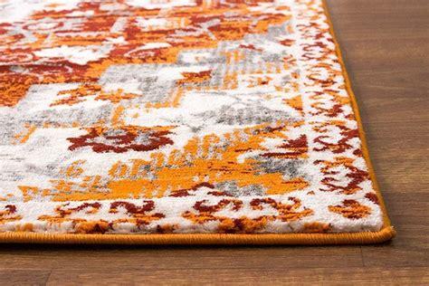 area rug burnt orange southwestern diamond rug