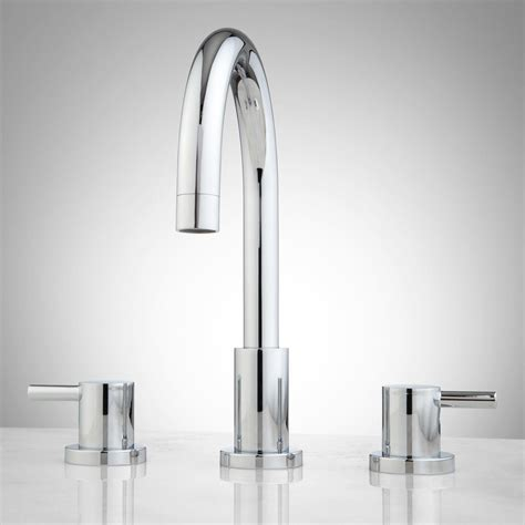 bathrooms faucets rotunda widespread bathroom faucet lever handles bathroom