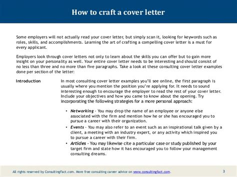 cover letter for consulting firm consulting cover letter exles