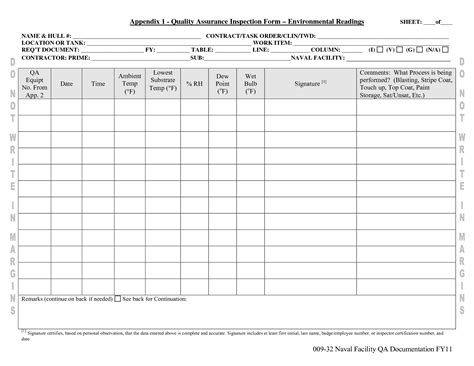 Manufacturing Inspection Sheets Pictures To Pin On Pinterest Pinsdaddy Quality Forms Templates