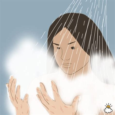 Is Taking Showers Bad For You by She Hangs Loofah In The Shower When She Sees What S