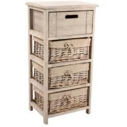 meuble 4 tiroirs osier bois achat vente meuble