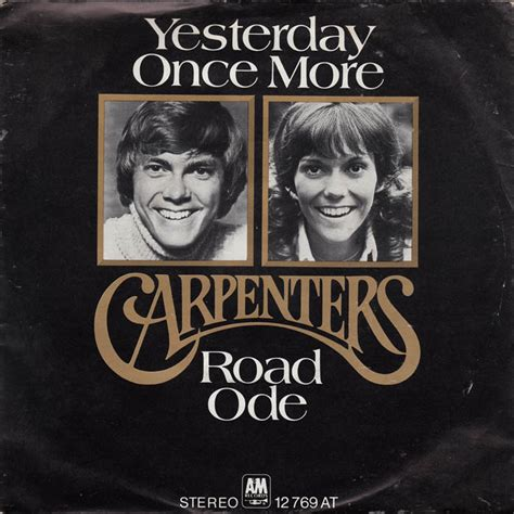 The Carpenter S Miracle Free Yesterday Once More The Carpenters Free Piano Sheet