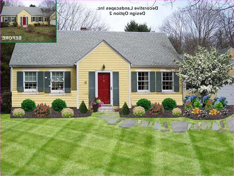 cape cod house landscaping ideas google search pat