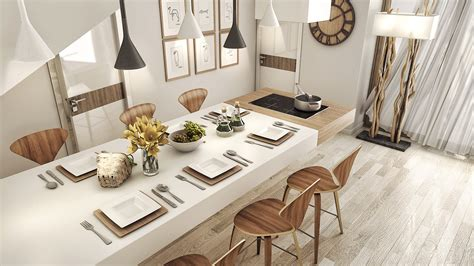 Lighting For Dining Room Ideas 2 Luxury Apartment Designs For Couples