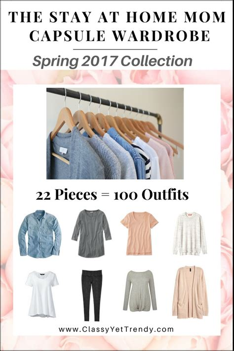 Wardrobe For Stay At Home by The Stay At Home Capsule Wardrobe E Book 2017