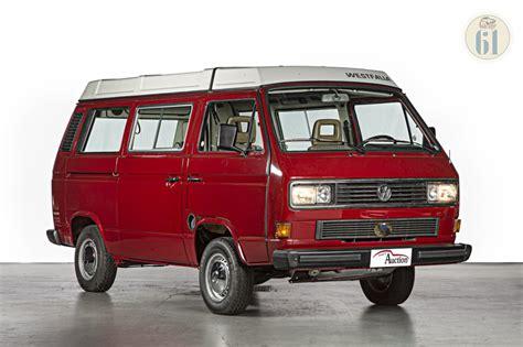 lot 93 volkswagen t3 westfalia 1988 oldtimer auction