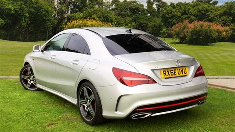 used mercedes cla used mercedes benz cla cla 250 amg 4dr petrol saloon for