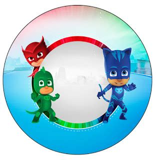 pj masks free printable wrappers and toppers for cupcakes