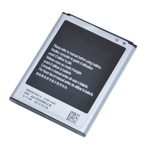Battery Batre Samsung Galaxy Grand I9082 samsung galaxy grand i9082 battery 2100 mah eb535163lu