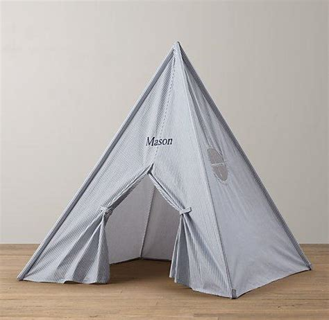 cole canvas tent bed collection rh baby child printed canvas play tent restoration hardware baby child