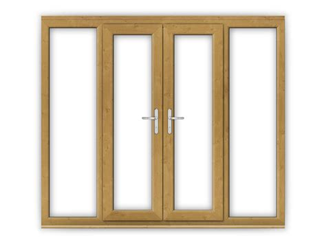4ft upvc doors 4ft oak upvc doors with wide side panels