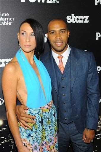 actors that have black wives actor omari hardwick and his wife jennifer pfautch yin