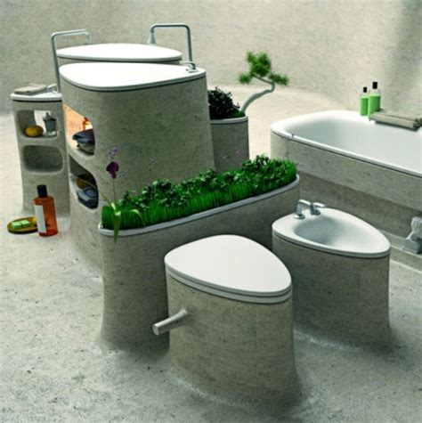 eco friendly bathtub eco friendly bathroom design of endless concrete digsdigs