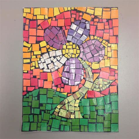 Paper Mosaic Crafts - paper mosaic patterns for www pixshark images