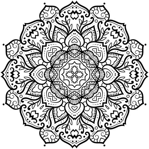 mandala coloring in book awesome mandala coloring pages freecoloring4u