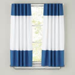 White Curtains With Blue Trim Blue And White Curtains 2016