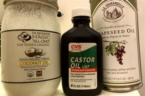 Castor Detox Recipe by Cleansing Method Hair Growth Recipes And On
