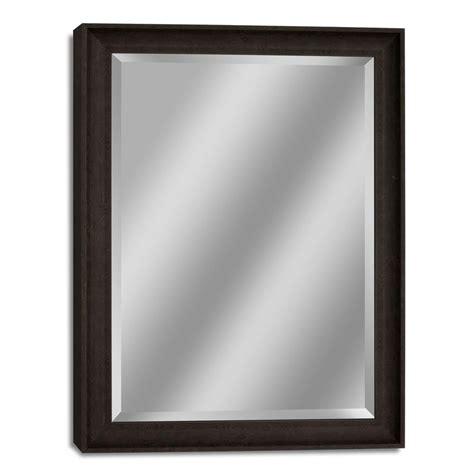 deco mirror genoa 27 in x 33 in mirror in bronze cherry deco mirror 27 in w x 33 in h transitional driftwood