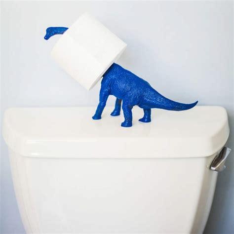 dinosaurier badezimmer 15 diy und preiswerte toilettenpapierhalter ideen